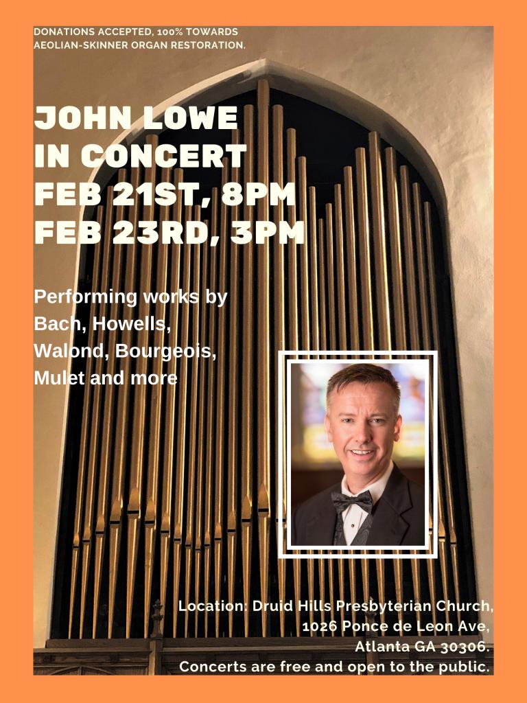 John Lowe poster
